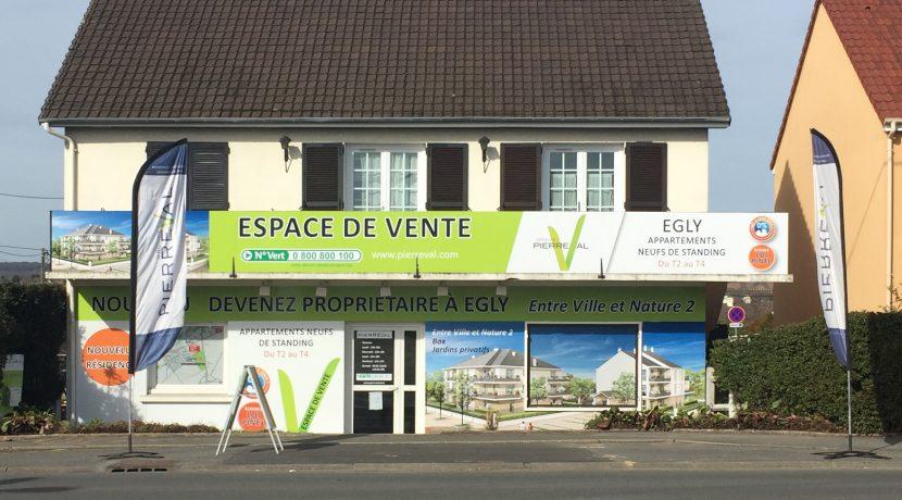 Entre Ville et Nature 2- 91520 -Egly-Bureau de vente