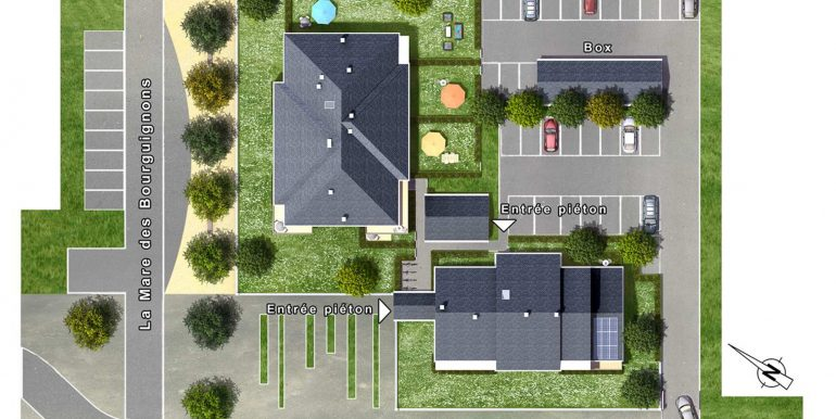 91-EGLY-Entre Ville et Nature 2-PLAN-MASSE